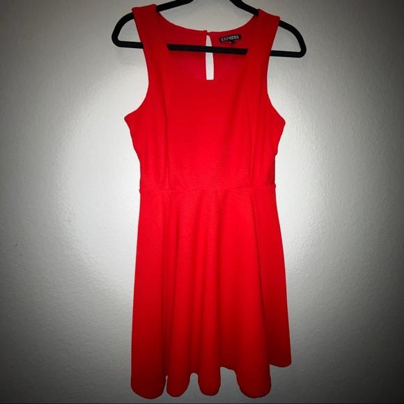 Express Dresses & Skirts - Ultra cute Red Dress